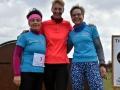 Frauen- Team Lauftreff Alteburg (v.l. L. Heyder, N. Schubert, A. Herzberg)