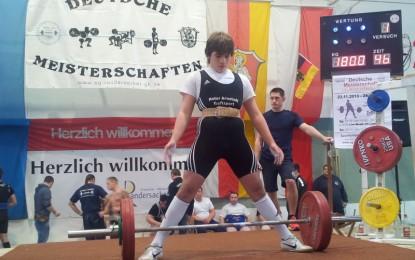 Starke Arnstädter Athleten – zweite Goldmedaille für Dustin Podhornik
