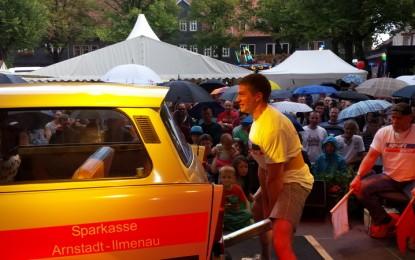 11. Thüringer Meisterschaft im Trabbiheben …… und die Sache mit dem Wetter