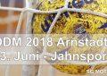 Ostdeutsche Meisterschaft Ü40 am 23.06.2018