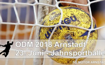 Ostdeutsche Meisterschaft der Handball-Senioren in Arnstadt